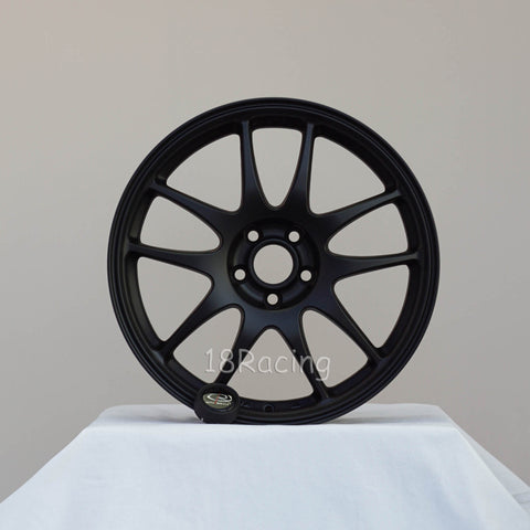 Rota Wheels Torque 1780 5X100 48 56.1 Flat Black