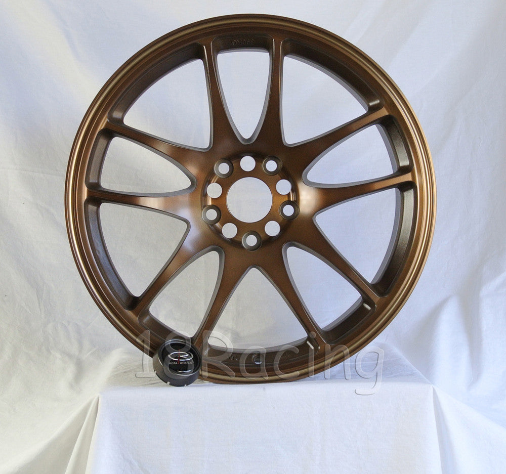 Rota Wheels Torque 1895 5X114.3 28 73 Full Royal Sport Bronze