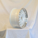 Rota Wheels Track R2 1670 4X100 40 67.1 White with Polish Lip