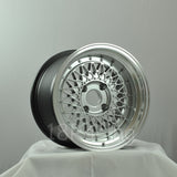 Rota Wheels Wired 15x9 4x100 20 67.1 Hypersilver with Polish Lip