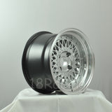 Rota Wheels Wired 1590 4X114.3 0 73 Hypersilver with Polish Lip