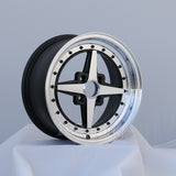 Rota Wheels Zero Plus 1570 4X100 35 67.1 Full Polish Black