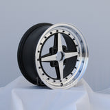 Rota Wheels Zero Plus 1580 4X100 0 67.1 Full Polish Black