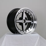 Rota Wheels Zero Plus 1580 4X100 20 67.1 Full Polish Black