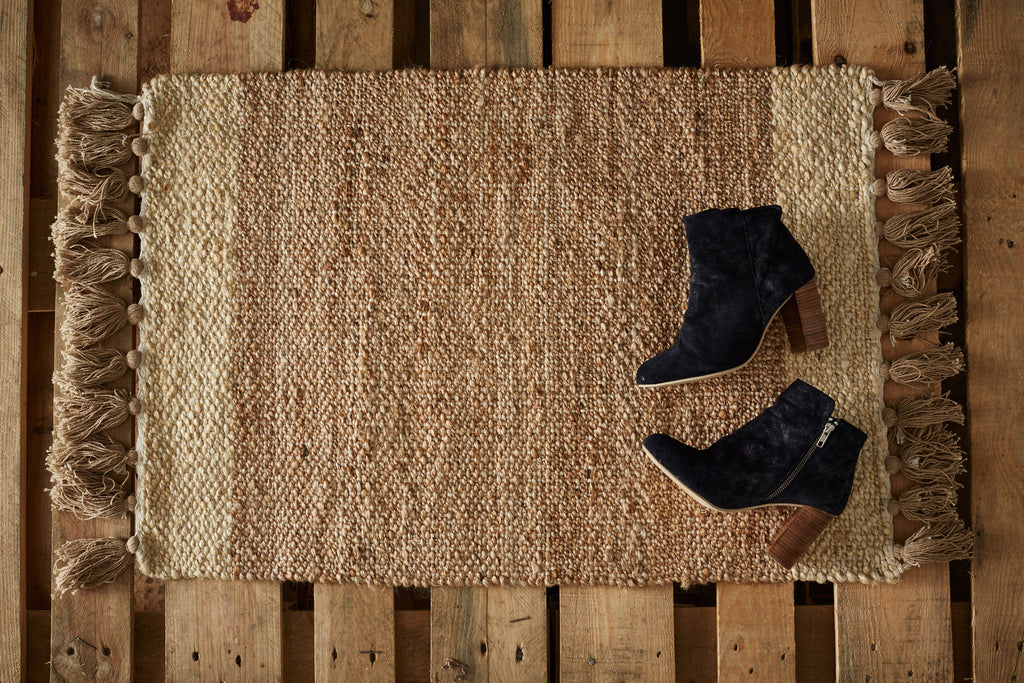 Eaton Door Rug: Natural