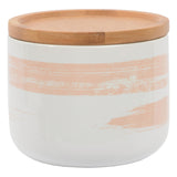 Brushed Peach Canister: Small
