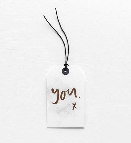 Gift Tag: You