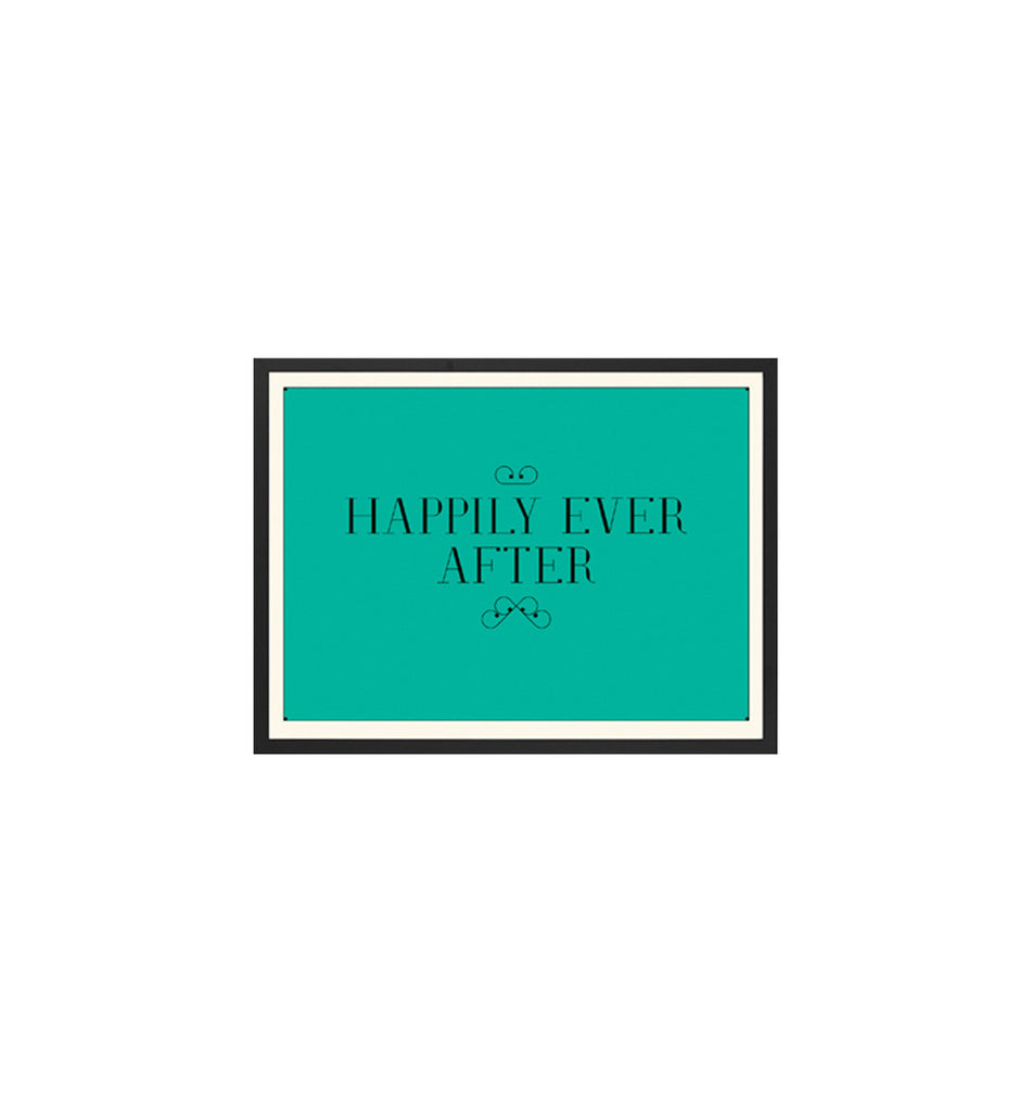 Happily Ever After: Teal