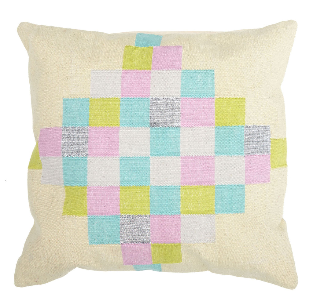 Langdon LTD Checker Cushion