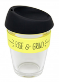 General Eclectic Takeaway Cup - Rise & Grind