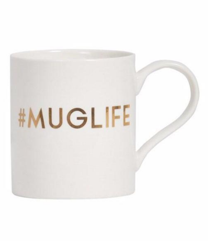 Gold Deco Mug **LAST ONE**