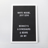 White Moose Memo Board - Large