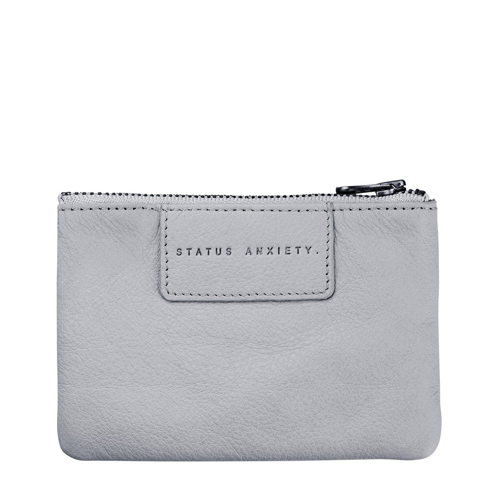 Status Anxiety Anarchy Wallet: Arctic Grey