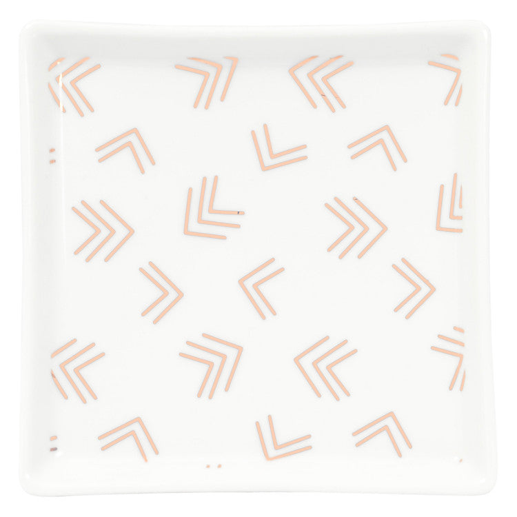 Aria Square Dish: Copper