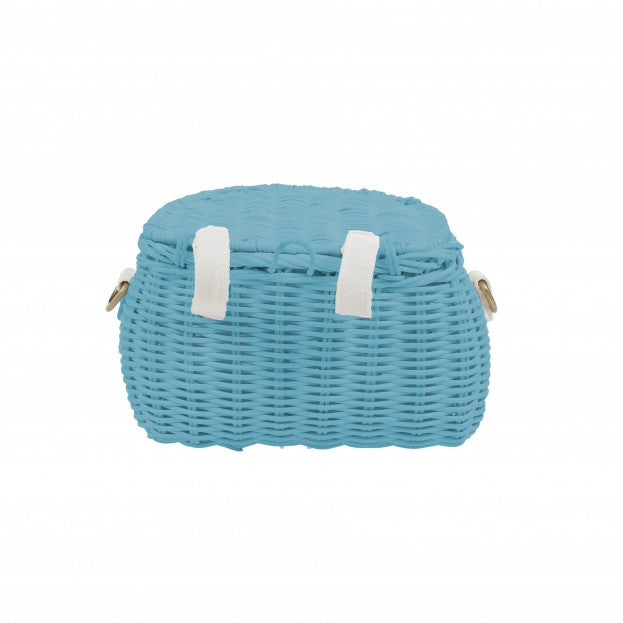 Olli Ella Minichari Bag: Blue