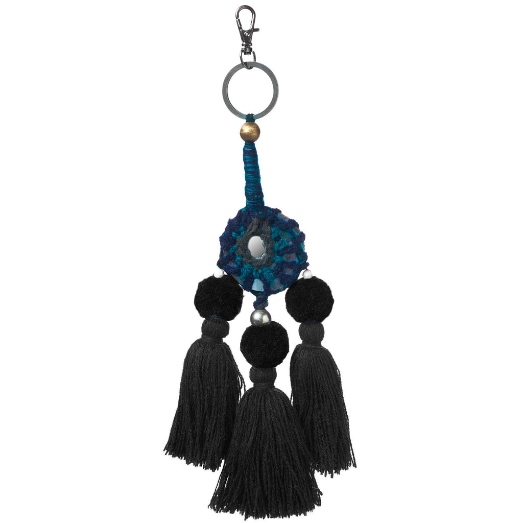Sammode Mirror Tassel: Charcoal