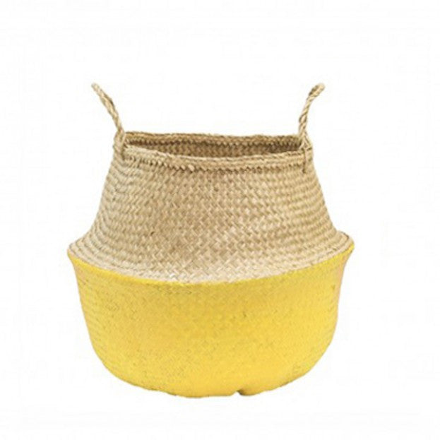 Olli Ella Belly Basket: Yellow