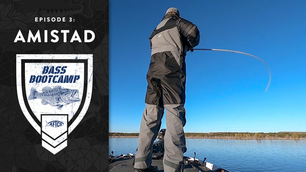 Bass Boot Camp 2019 - Ep. 3: Amistad Tournament VLOG