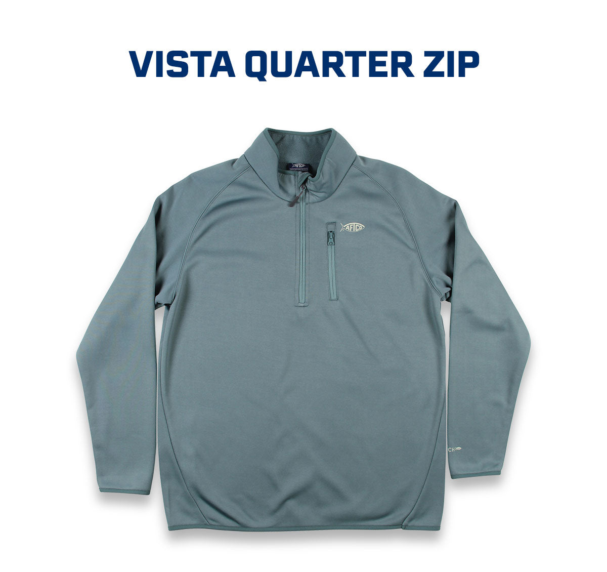 Vista Quarter Zip Technical Fleece