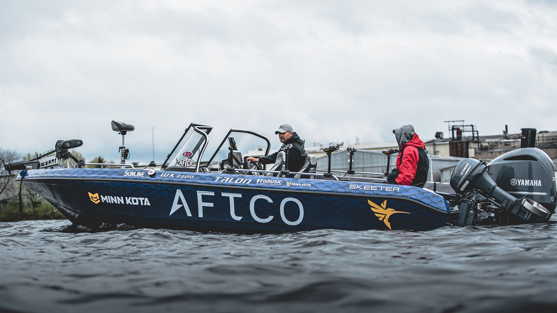 AFTCO Bass Boat Wraps