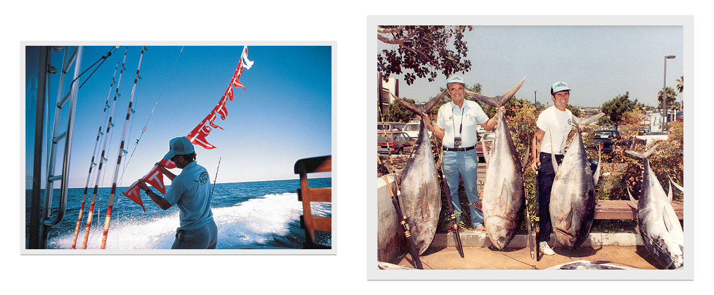 AFTCO celebrates their 60th anniversary looking back at the Fish Tagging program and a great day fishing with dad