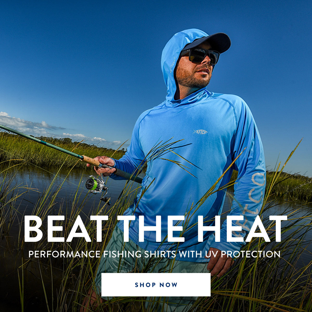 Beat the heat with performance fishing shirts