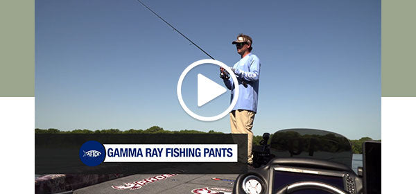 Gamma Ray Technical Fishing Pants - Watch Now