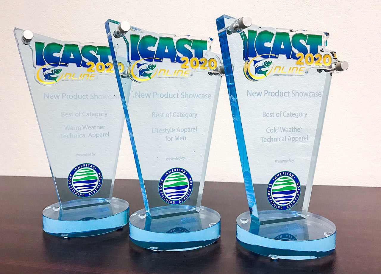 AFTCO's ICAST 2020 Online New Product Showcase Award Trifecta