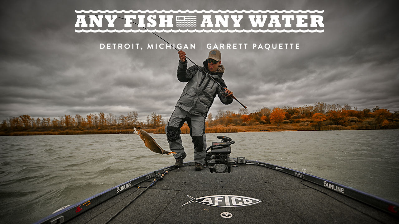 Any Fish, Any Water Ep. 2: Detroit, Michigan | Garrett Paquette