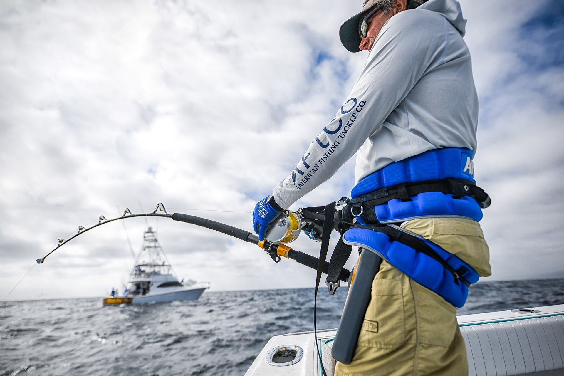 How to Fight a Big Fish with a Belt and Harness