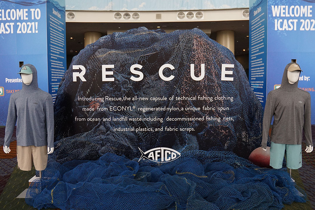 AFTCO Rescue Display at ICAST 2021