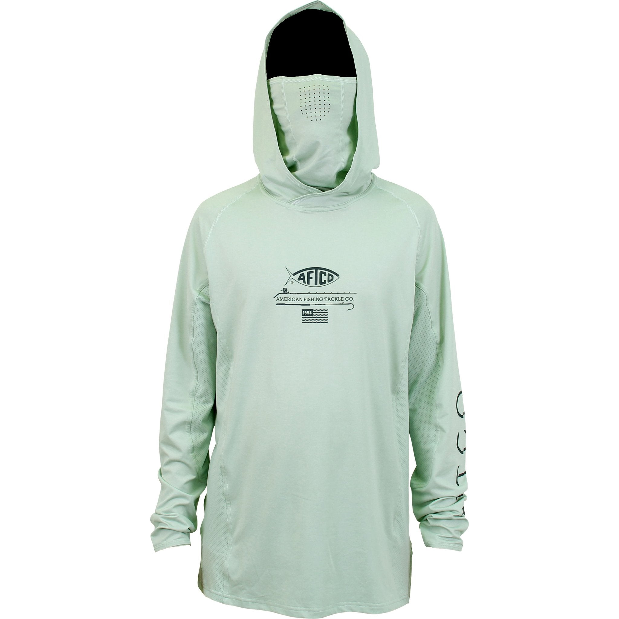 BARRACUDA GEO COOL™ HOODED LS PERFORMANCE SHIRT