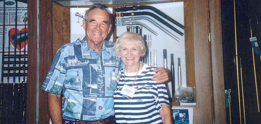 AFTCO's Milt & Peggy Shedd - Click to learn more about the history of AFTCO
