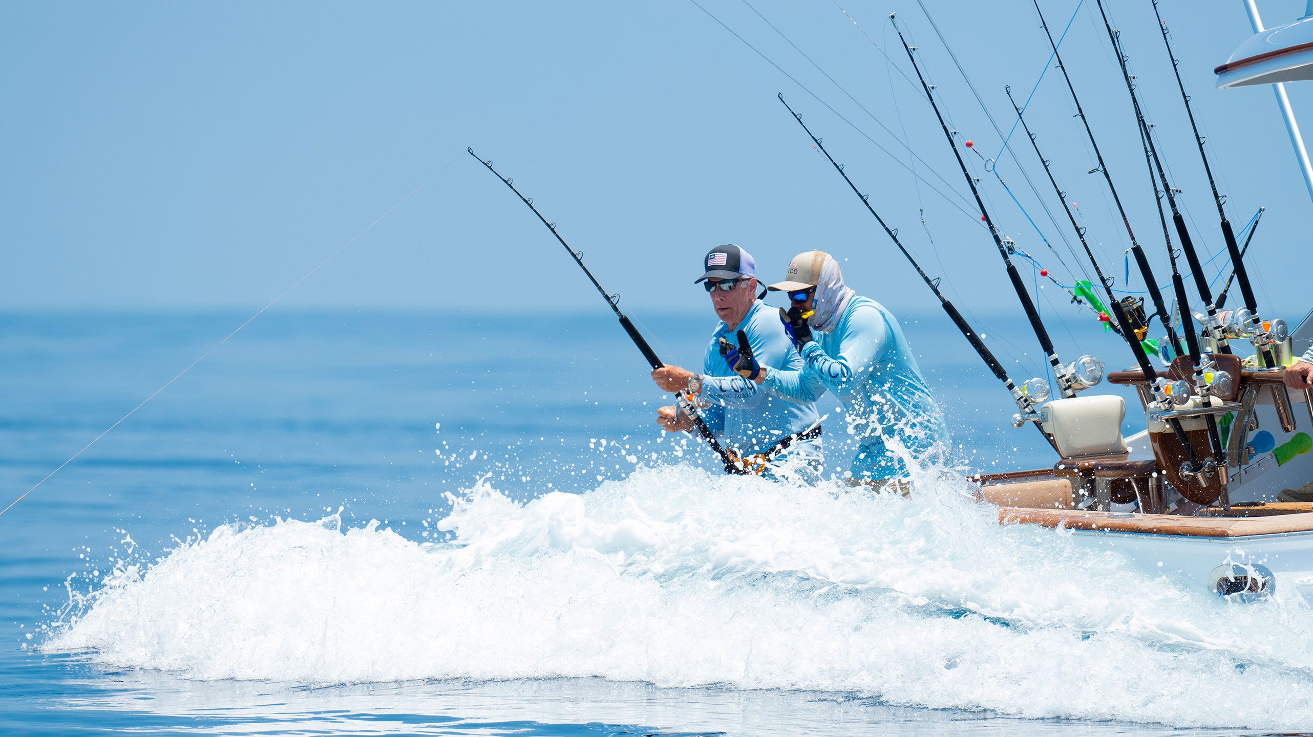 AFTCO Fishing Performance Gear For Los Sueños Fishing Charters