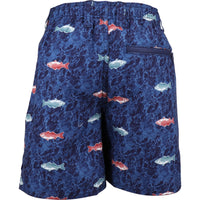 YOUTH BOATBAR SWIM TRUNKS | Navy