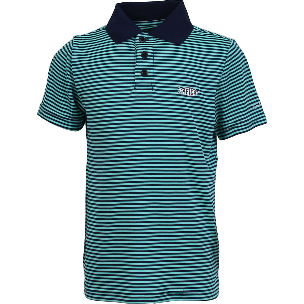 AFTCO Youth Divot Performance Polo Shirt
