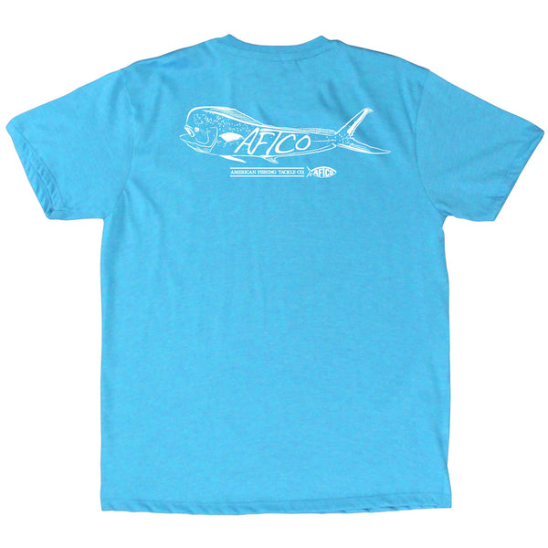 Neon Sky Blue Heather