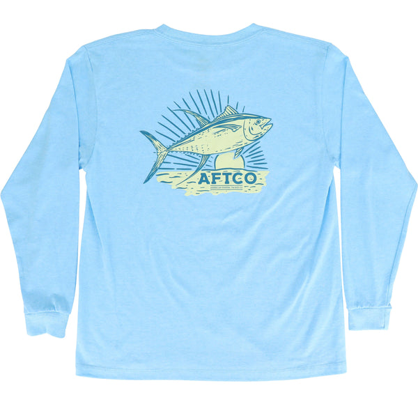 Featured Color - Neon Sky Blue Heather