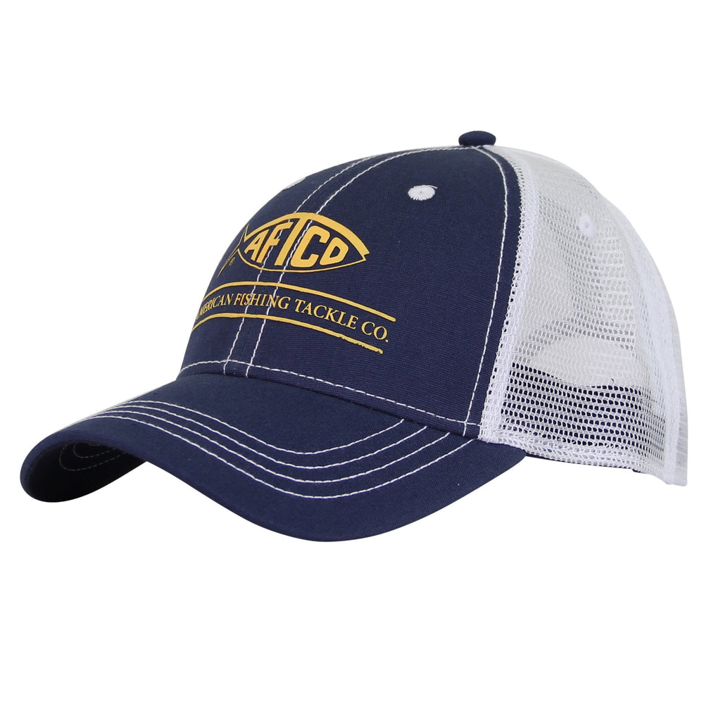 Timeless fishing trucker hat aftco for Fishing trucker hats
