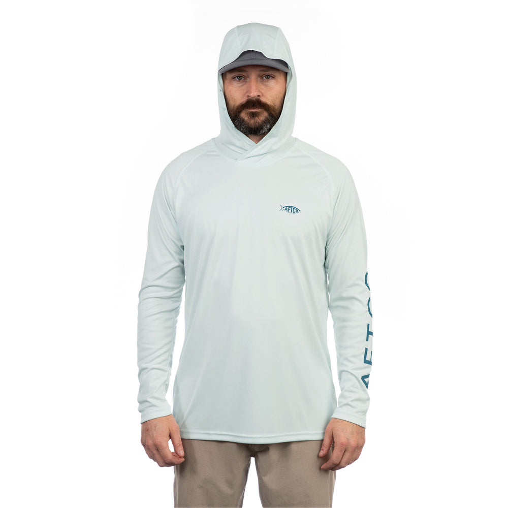 Samurai Long Sleeve Sun Protection Hoodie – AFTCO