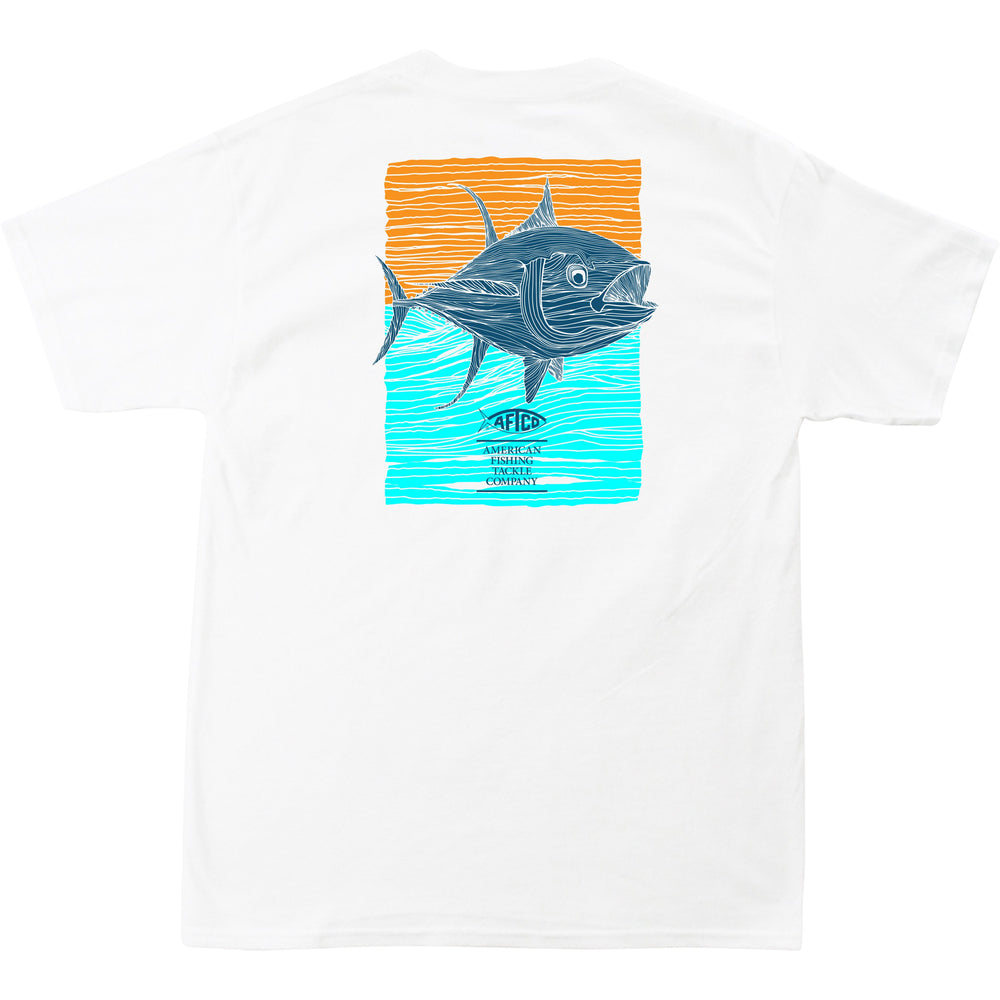 3efb7059 Home / Tuna Roll SS Pocket T Shirt. White ...
