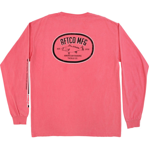 Inshore Oval LS Vintage Pocket T-Shirt