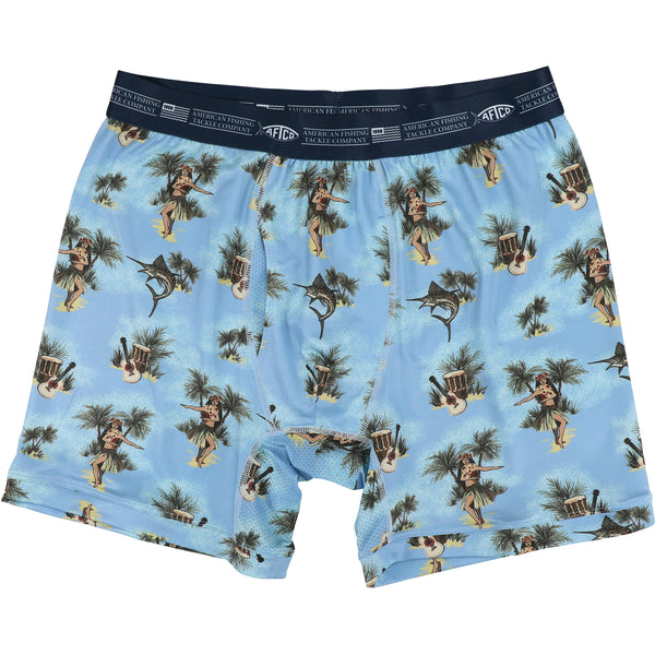 Featured Color - Hula Tackle Boxers