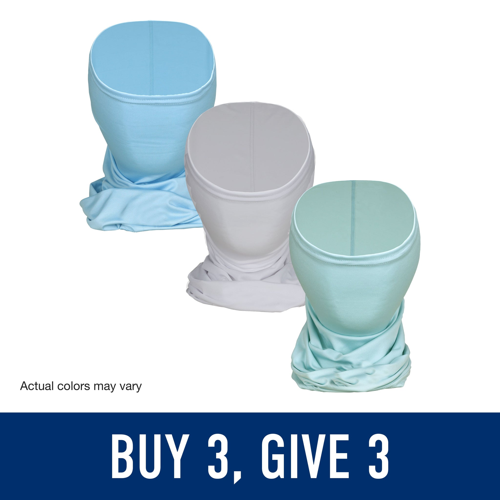 Buy 3 Give 3 Fishing Face Masks from AFTCO during COVID-19 pandemic