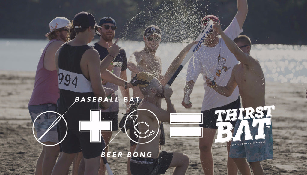 The ThirstBat Chugger - Baseball Bat & Beer Bong