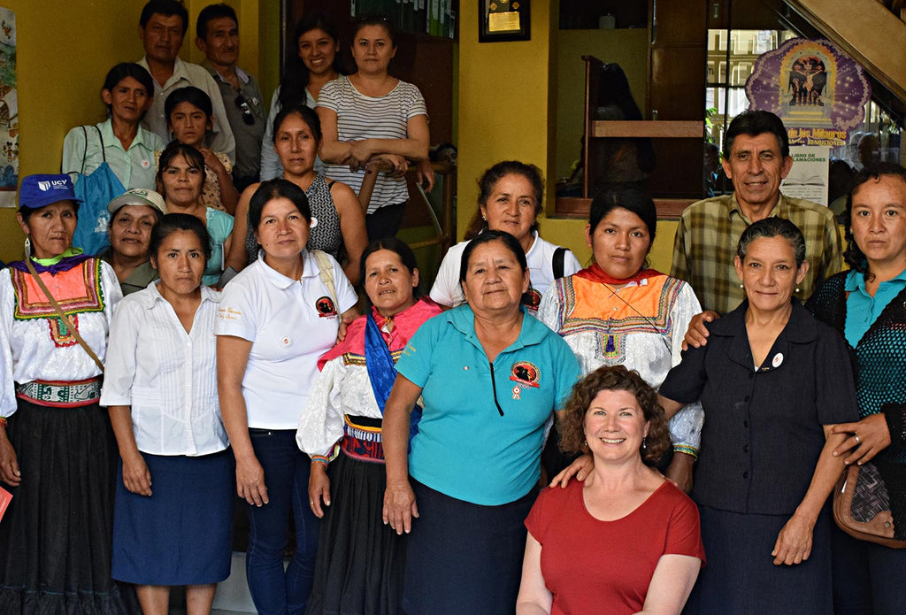 Cafe Femenino quarterly meeting in Peru.