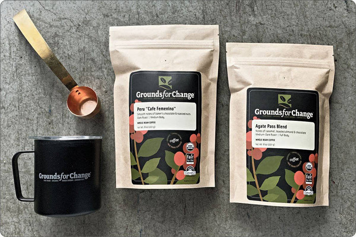 Fair Trade Coffee & Organic Coffee: Compadre Coffee Gift Box