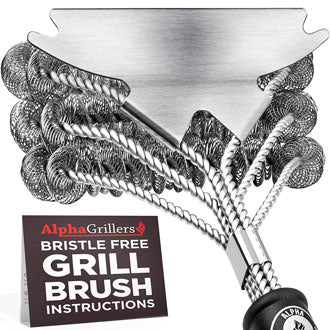 Alpha Grillers Grill Bristle-Free Brush
