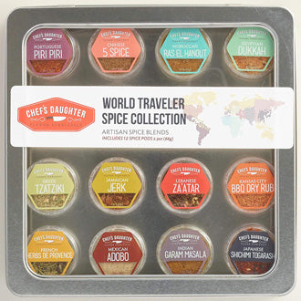 Chef's Daughter World Traveler Gift Collection