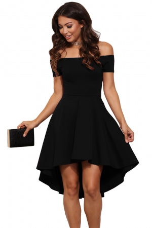 Black Rave Skater Dress